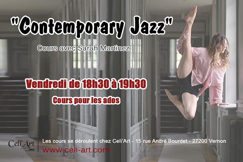 Contemporary Jazz Dance - Cours Contemporain - Celi'Art Vernon Evreux Pacy sur Eure Gaillon 27